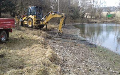 Bagrování a rekultivace rybníka Líšnice