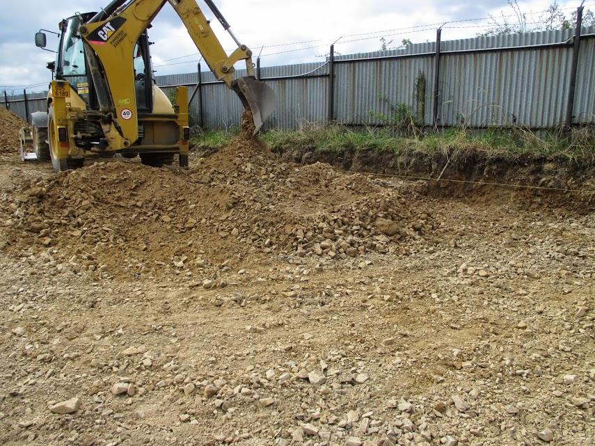 Přípravné práce na betonový povrch